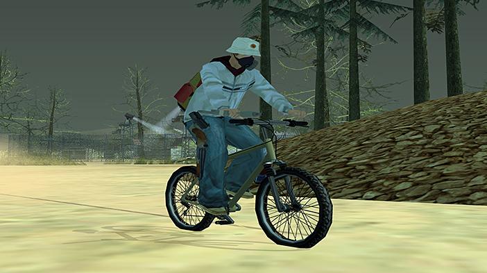 Обновление GTA SA:MP SEKTOR 2 - Велосипеды!
