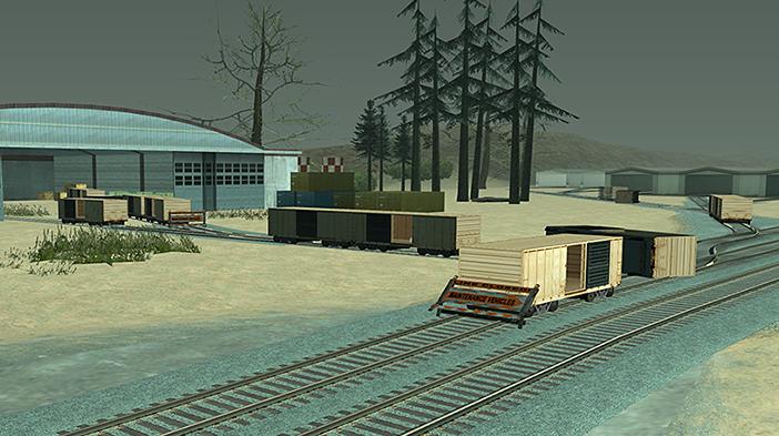 Обновление GTA SA:MP SEKTOR 2 - Железнодорожное депо!