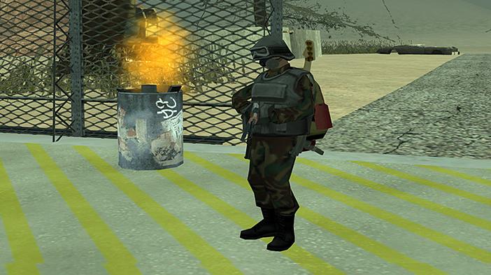 Обновление GTA SA:MP SEKTOR 2 - Защитный костюм! Часть 2.