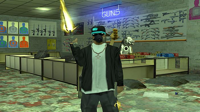 Обновление GTA SA:MP SEKTOR 2 - Новые магазины оружия!