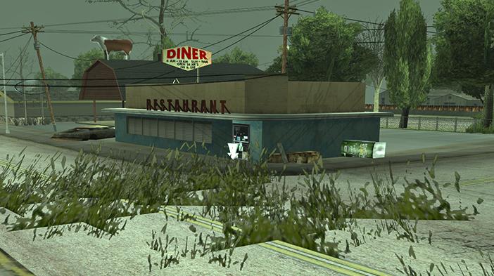 Обновление GTA SAMP SEKTOR 2: Заброшенные кафе!