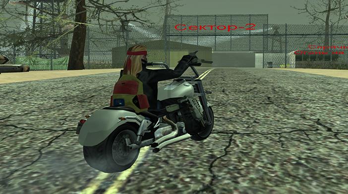 Обновление GTA SAMP SEKTOR 2: Личный мотоцикл!