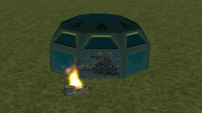 Обновление GTA SAMP SEKTOR 2: Система палаток!