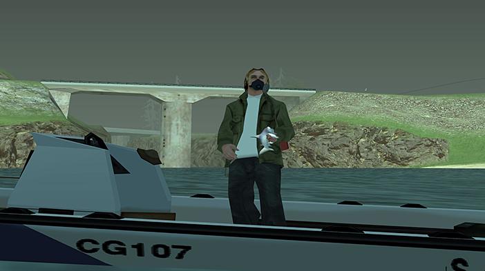 Обновление GTA SA:MP SEKTOR 2 - Рыбалка!